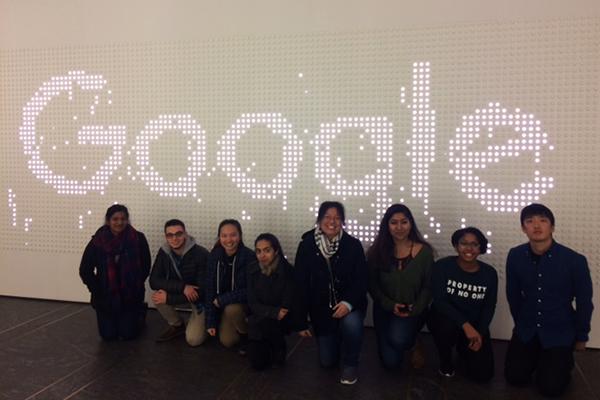 Students at google