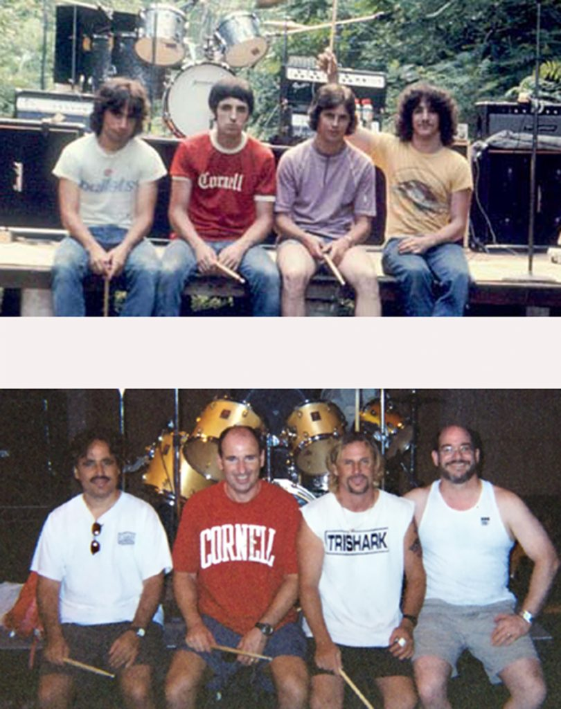 Band then now