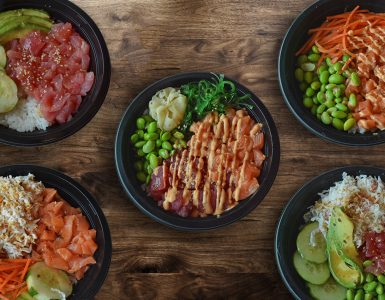 You can now make your own Poke bowls at Sushi-Do in Jasmine Food Court.