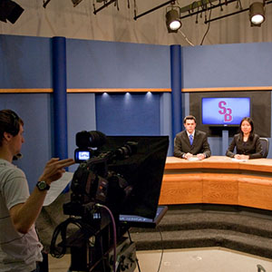 Student journalists