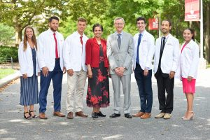 Dr. Kenneth Kaushansky and incoming students