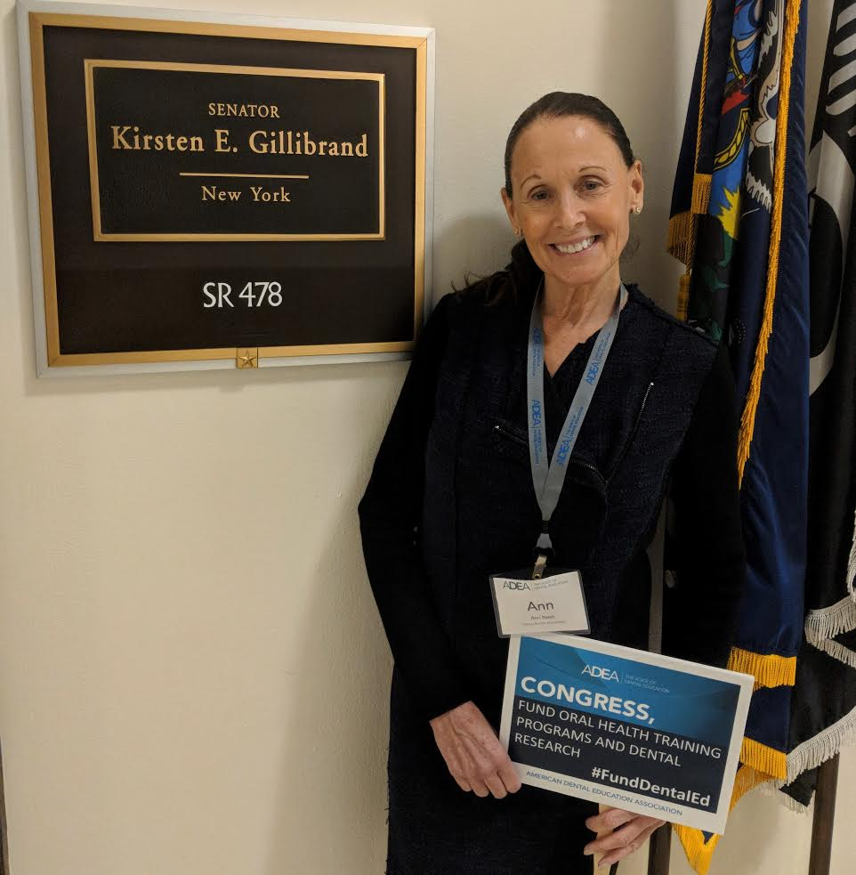 Dr. Ann Nasti advocating on Capitol Hill