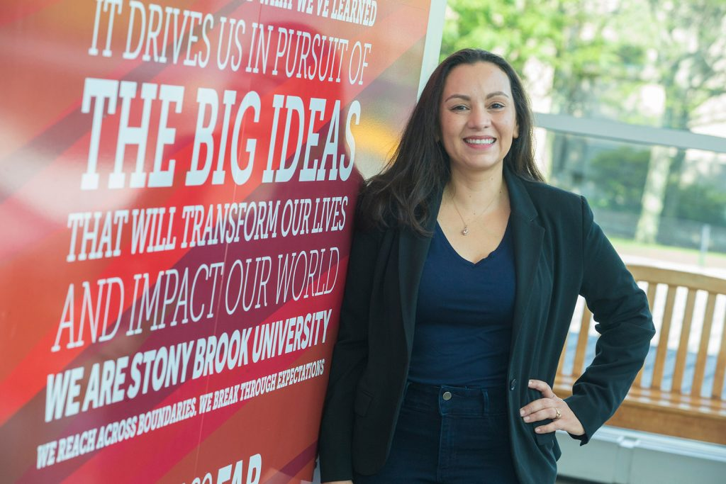 Non-traditional student Belinda Castiblanco