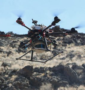 Astrobotic drone