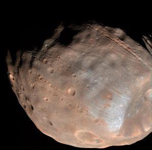 Analyzing Mars' Moons