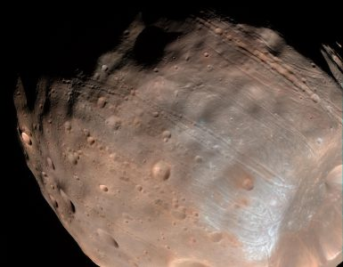 Analyzing Mars' Moons