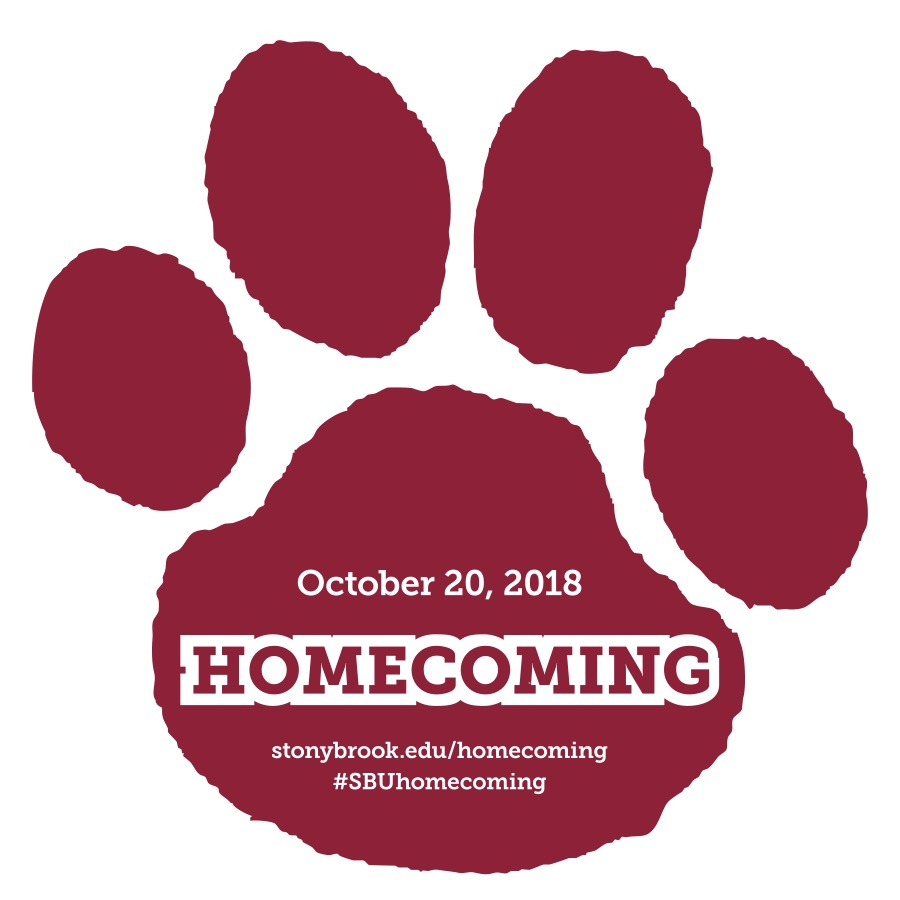 Homecoming 2018 paw print