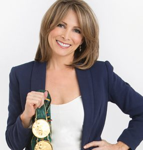 Olympian Shannon Miller is the keynote speaker.