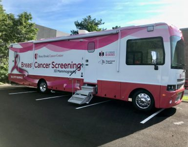 SBU Mammography Van