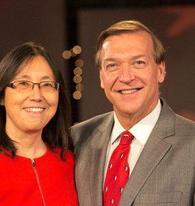 Image of president stanley and dr. li internet