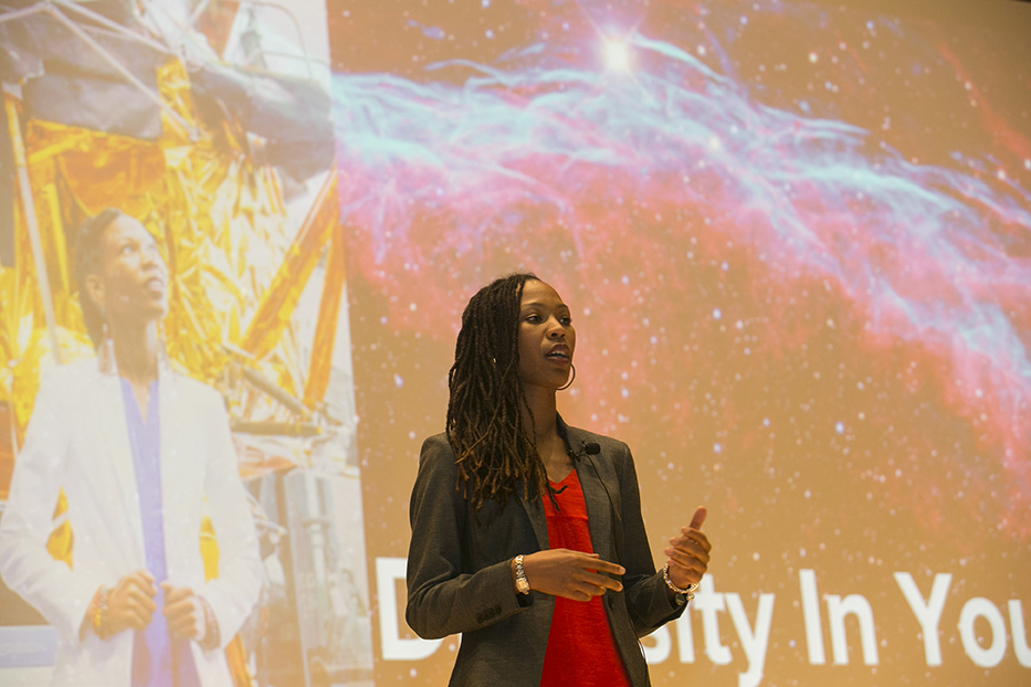 """Inner diversity"" was an important part of Sabrina Thompson's journey from Stony Brook to NASA."