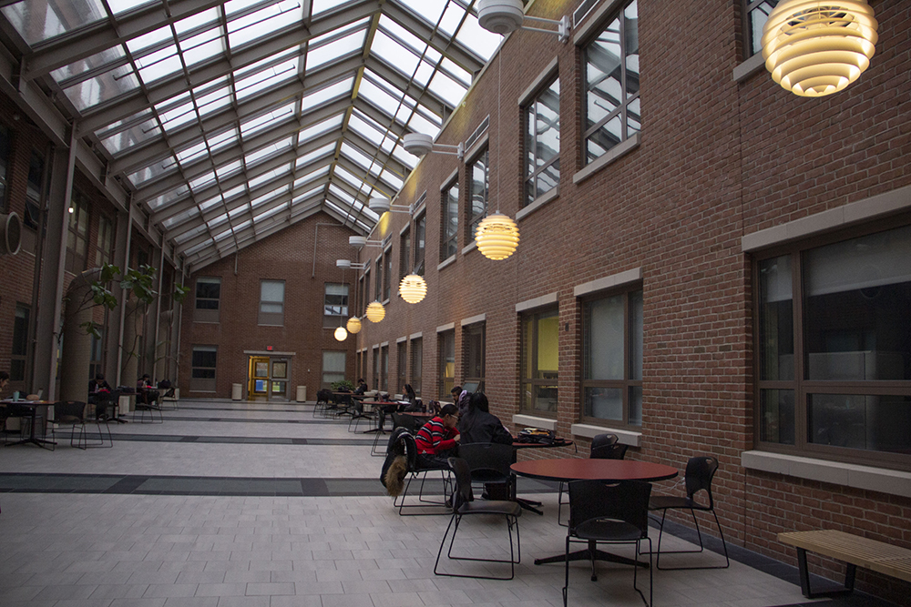 Humanities Building Lobby