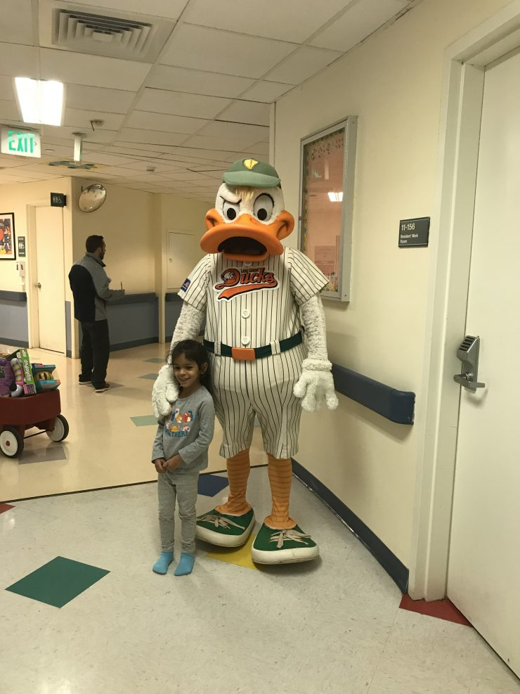 Li ducks visit 1