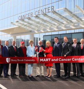 Mart ribbon cutting