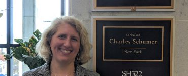 Nicole Sampson on Capitol Hill