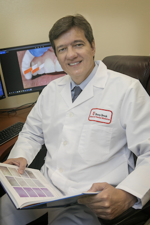 Dr. Wellington Rody is using oral fluids to identify biomarkers that may help detect periodontal disease and dental resorption early in the disease process.