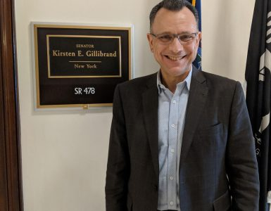 Dean Fotis Sotiropoulos on Capitol Hill.