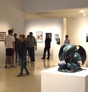 The Senior Show and URECA Art Exhibition will be on display in May.