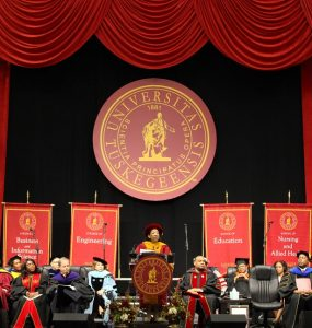 Dr. mcnair inauguration ceremony