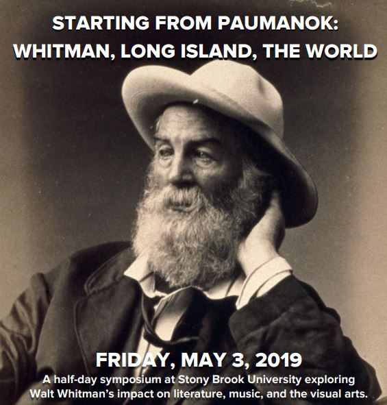 Walt Whitman May Event