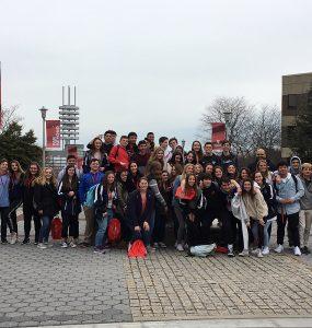 Bayport-Blue Point high-school students