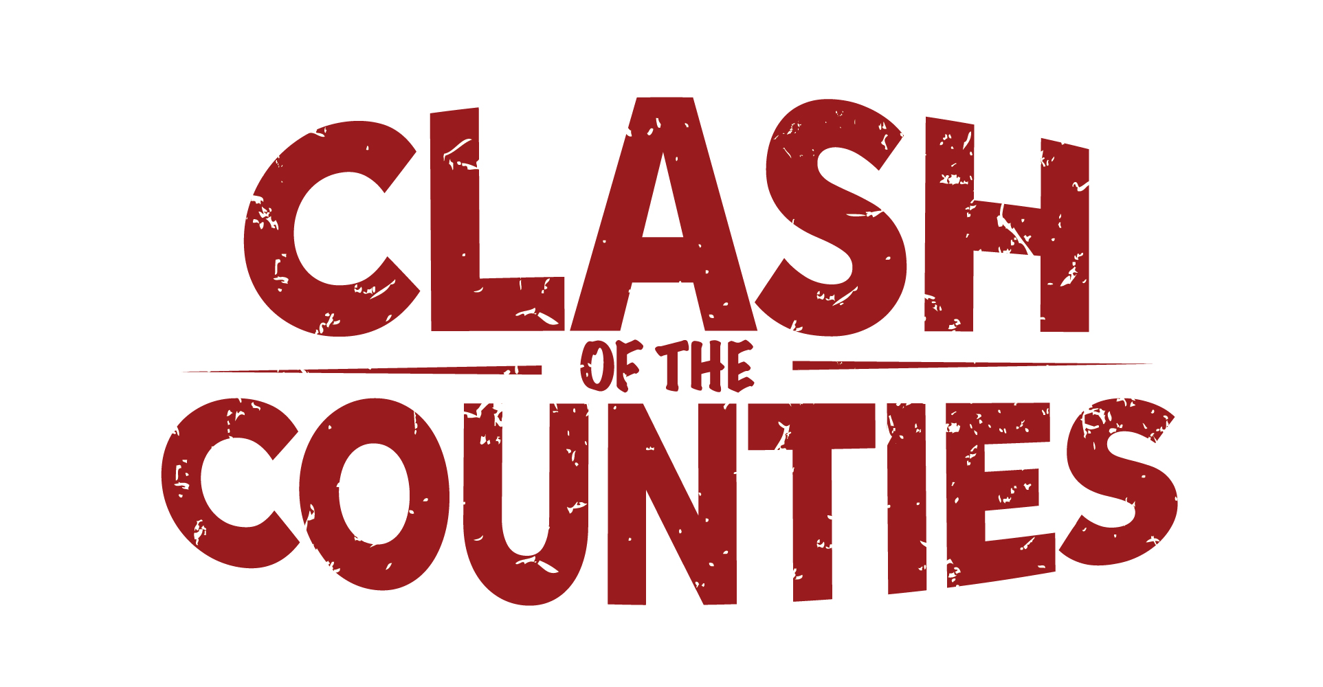 Giving day clash of counties red