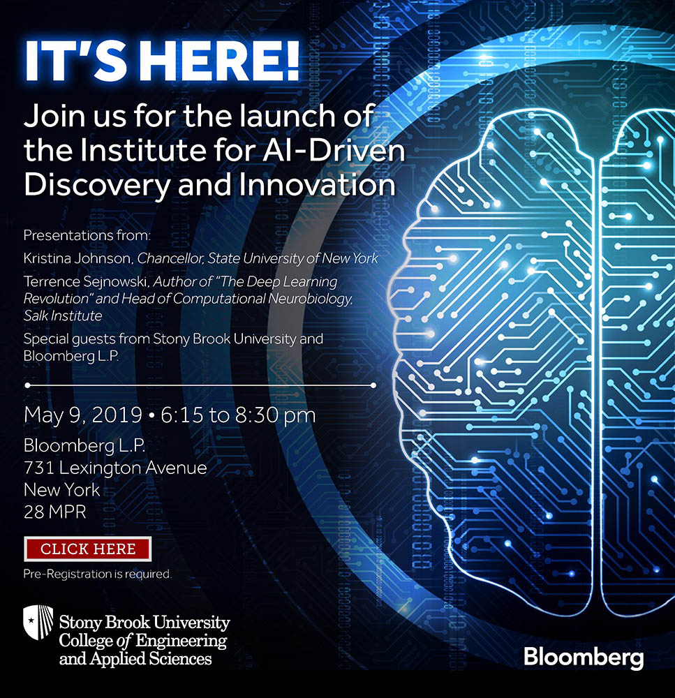 Institute for AI Driven Discovery launches May 9