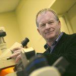 Professor Gordon Taylor in his lab