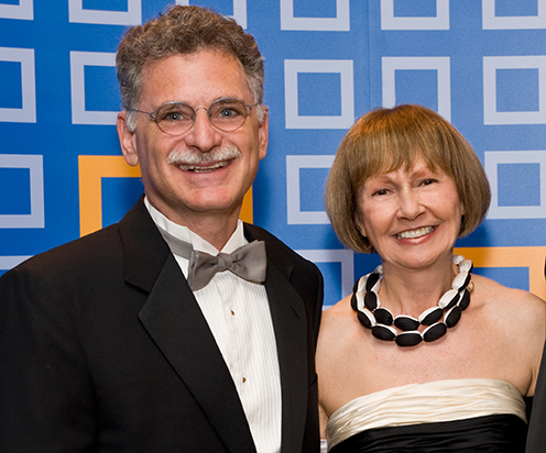Edward Guiliano '78 and Mireille Guiliano (Photo Credit: Jeff Weiner)