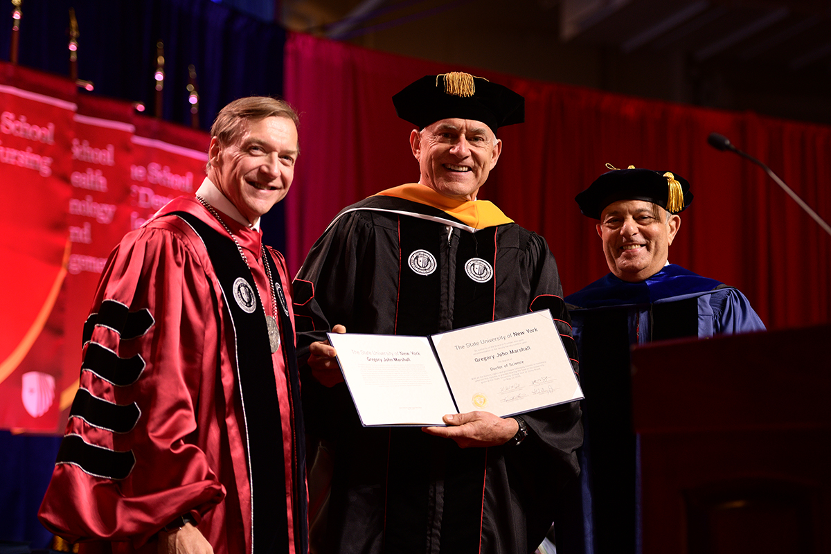 Greg Marshall Honorary Degree at 2019 Commencement