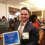 James Vassallo was recently named Graduate Student Government President of the Year.