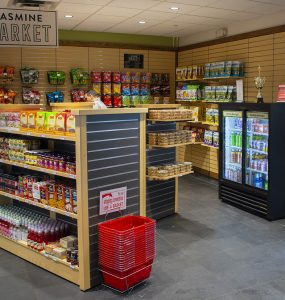 Jasmine Market in the Charles B. Wang Center retails more than 100 international grocery items.