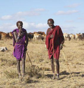 Masai herdsmen