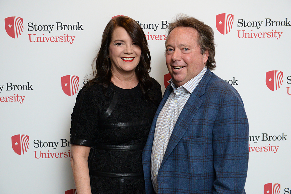 Rich and Wife, Peggy Gelfond at the 20th Annual Stars of Stony Brook Gala