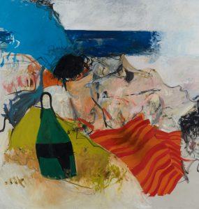 """Walter Plate, """"Georgica Beach, The Hamptons,"""" 1971. oil on canvas"""