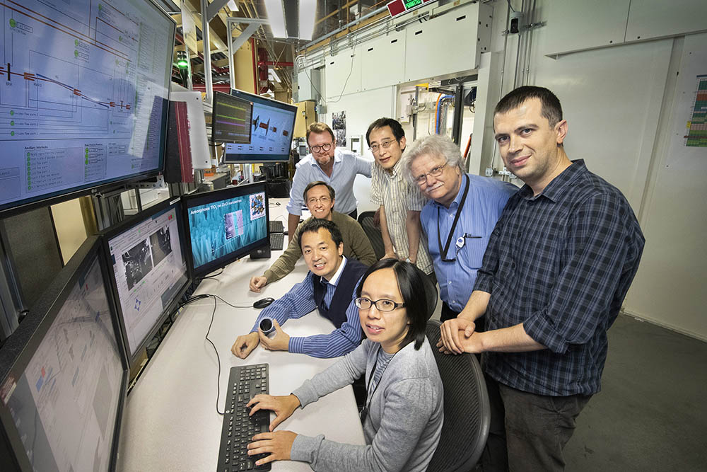 Nanowire research team