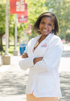 New medical student Chelsea Grant