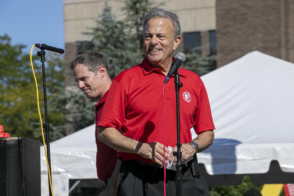 Stony Brook University Interim President Michael Bernstein