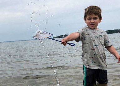 A small grant to the Cornell Cooperative Extension of Suffolk County Marine Program will help connect some 300 students with Long Island's coastal waters and, hopefully, an interest in protecting, conserving and restoring those resources.Credit: Ali Stevens / CCE Suffolk County