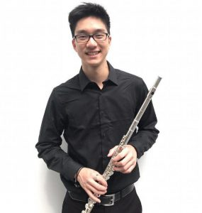 Flutist Thomas Lei is the featured soloist.