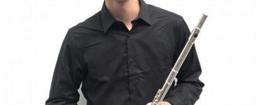 Flutist Thomas Lei is the featured soloist.