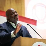 Journalist Jelani Cobb delivers Presidential Lecture.