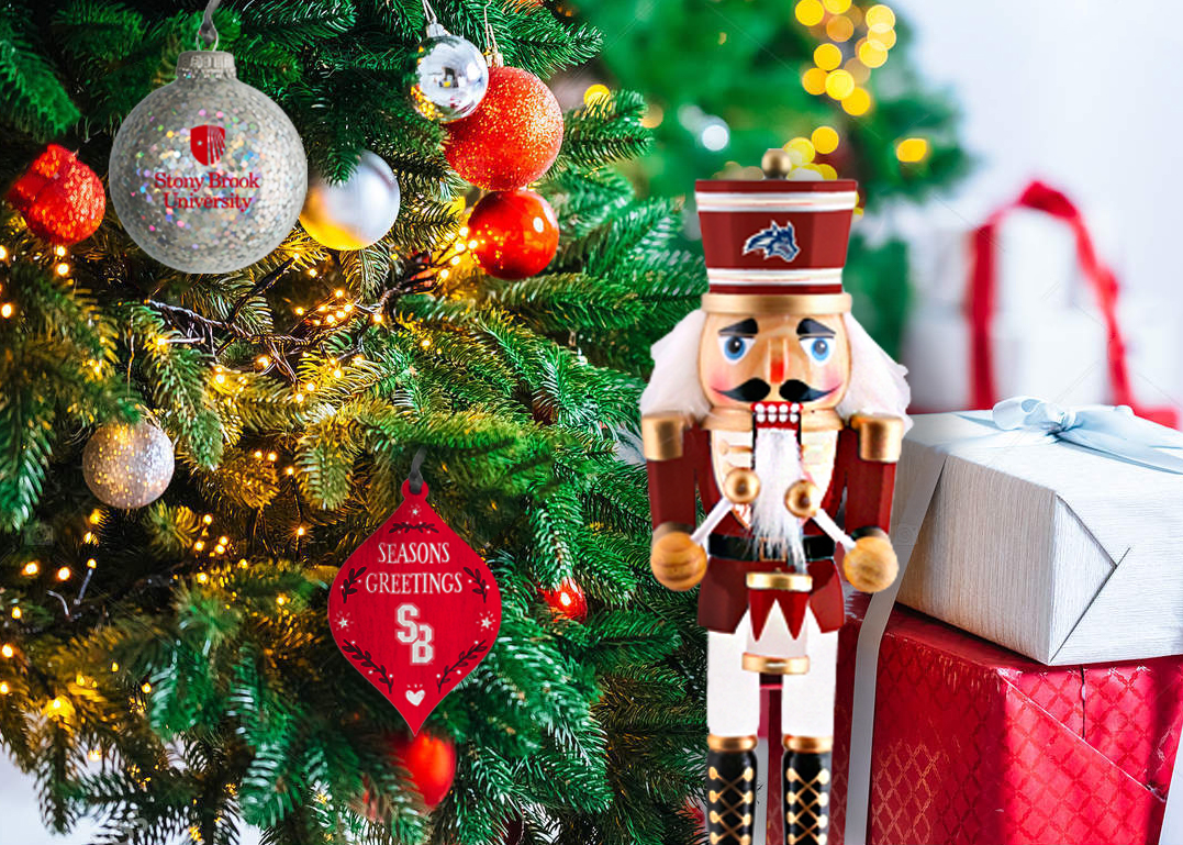 Nutcracker and ornaments
