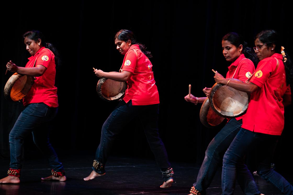 Tamil drummers