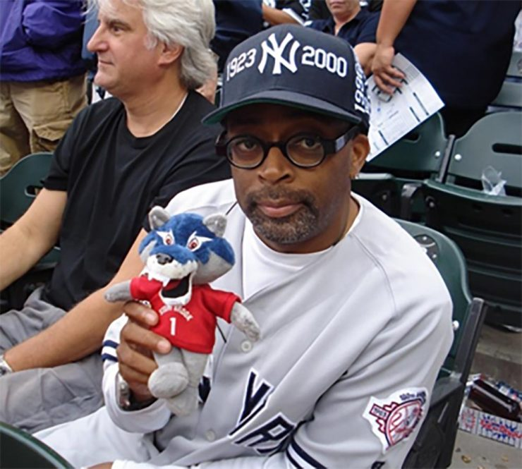 Spike Lee with Wolfie