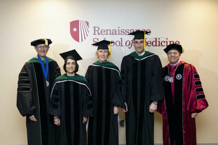 Stony Brook University Invests New Endowed Medicine Faculty and Celebrates Generous Benefactors