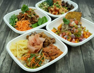 The SAC Market also offers Craft Salads and Bowls where customers can build their own salad or bowl, or choose from a curated menu of salads and grain bowls.