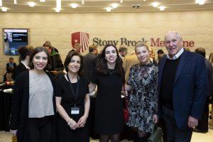 Sophie Laruelle, Dr. Abi-Dargham, Celine Laruelle, Ivana Stolnik '16, Robert Lourie