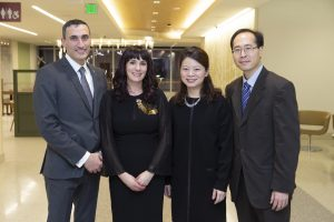 Dr. Tannous, Leigh Tannous, Carol Cheng '96, '97, Eugene Cheng '97