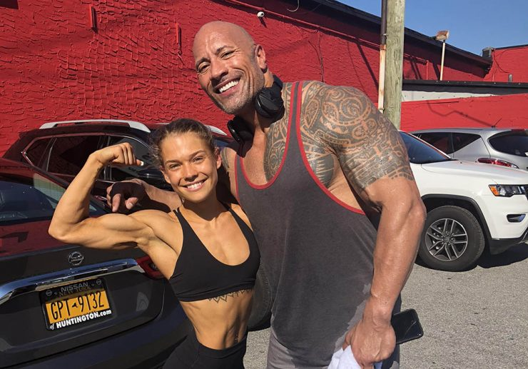 Alexa and The Rock
